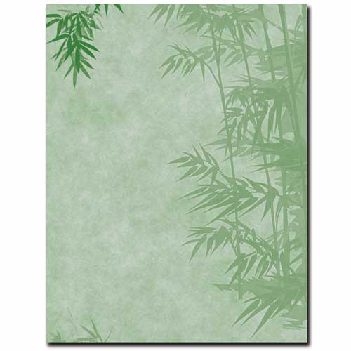 Simple Bamboo Letterhead Printer Paper, 100 Sheets](Bamboo Paper)