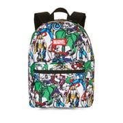 """Marvel Comics Avengers Comic Print 16"""" Backpack"""