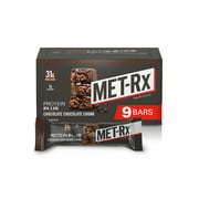 MET-Rx Protein Plus Chocolate Chocolate Chunk Protein Bar, 31g of Protein Per Bar 85g Bars, 9 Count