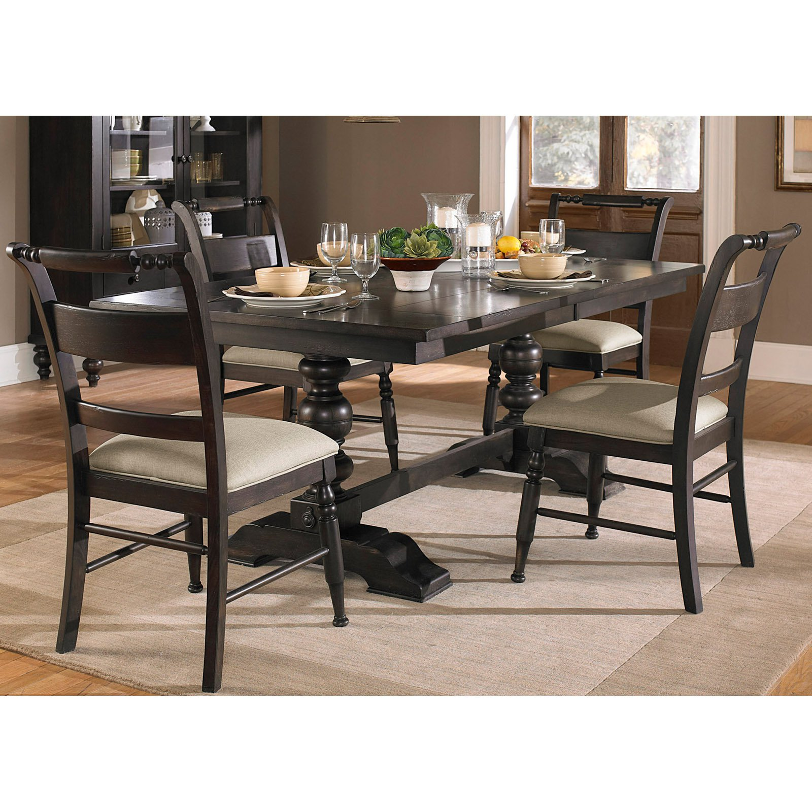 Liberty Furniture Industries Whitney Trestle Dining Table