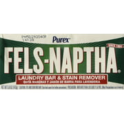 Laundry Soap Bar & Stain Remover - Pack of 2, 5.0 Oz per bar, Basic Soap By Fels Naptha From USA