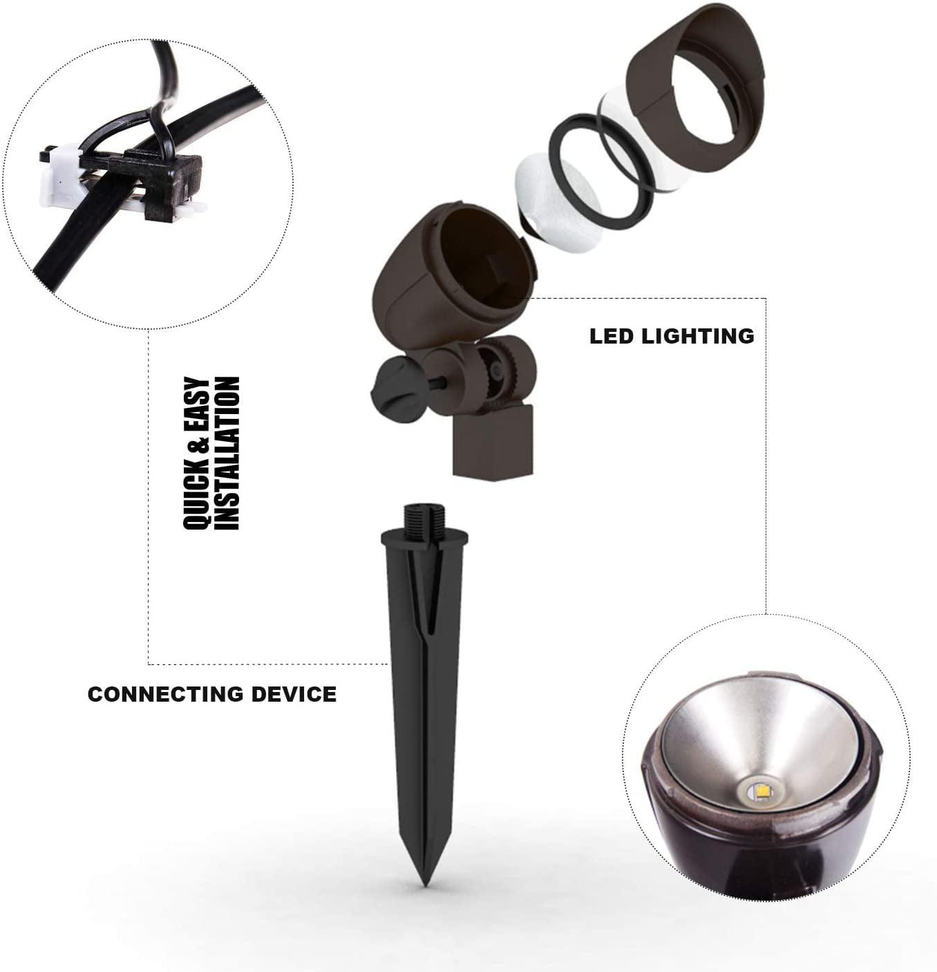 Malibu Equinox 6 Pack Led Light Kit