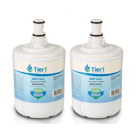 2 Pack Tier1 8171413 Replacement for Whirlpool 8171413, Kenmore 9002, EDR8D1, 469002, 8171414 Refrigerator Water Filter (Whirlpool Water Filter 8171413)