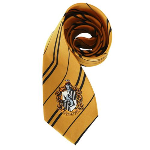 Harry Potter House Hufflepuff Kid and Adult Costume Necktie