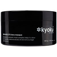 Kyoku Lava Masque for Men, 5 Oz