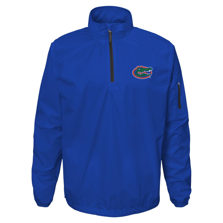 "Florida Gators NCAA ""Apex"" Men's 1/4 Zip Pullover Performance Jacket"