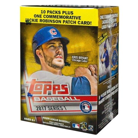 Mlb 2017 Topps Baseball Cards Series 1 Trading Card Blaster Box