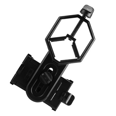 babydream1 Aluminum Alloy Telescope Phone Camera Clamp Clip Monocular Binocular Phone Bracket Holder Mount - image 7 of 9