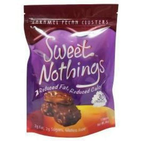 HealthSmart Sweet Nothings Chocolate Candies - Caramel Pecan Clusters - Sweet 16 Candy Buffet