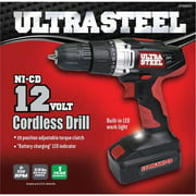 Ultra Steel 12V Cordless Drill/Driver