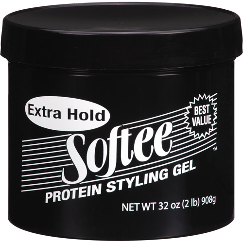 Softee Extra Hold Protein Styling Gel, 32 oz
