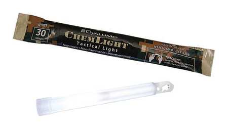 "6"" Lightstick, White ,Cyalume Technologies, 9-27056201 by CHEMLIGHT BY CYALUME TECHNOLOGIES"