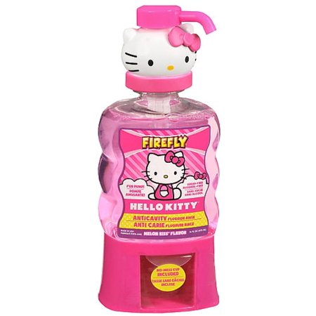 Firefly Hello Kitty Anti-Cavity Mouth Rinse, Melon Kiss Flavor 16 oz (Pack of - Fireflies For Sale