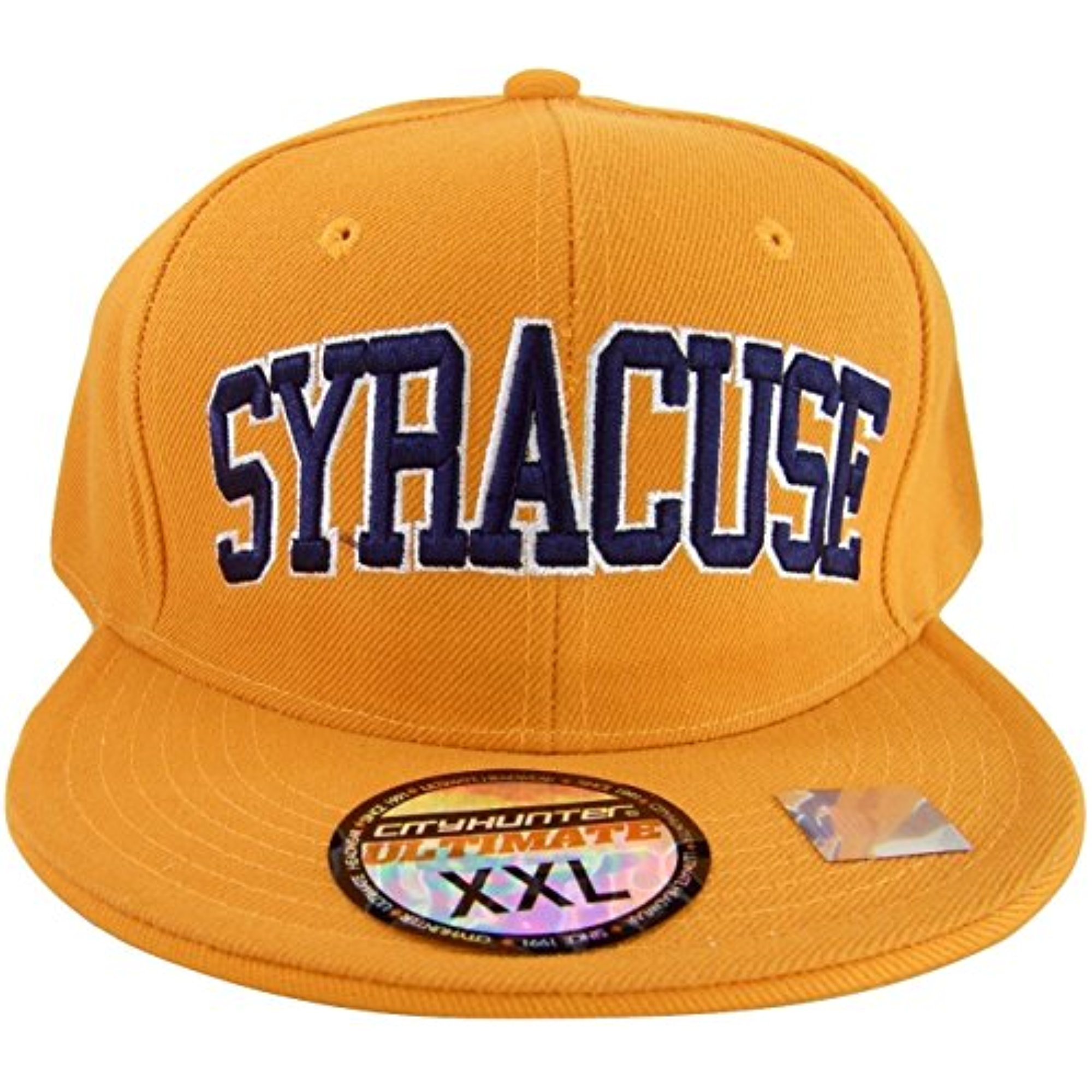 8a2dc17636a ... low price city hunter syracuse mens fitted baseball cap orange navy xx  large walmart fd7ea 02466
