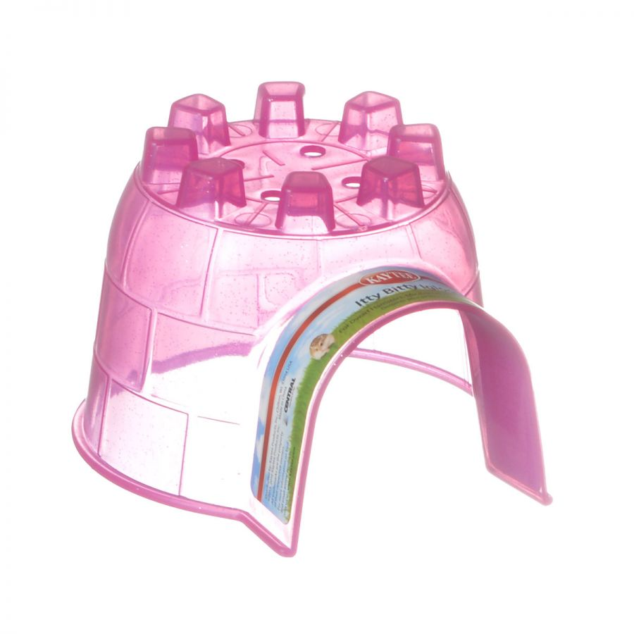 Kaytee Small Animal Igloo Hide Out Itty Bitty Igloo (4L x 4.5W x 3H) - Pack of 2