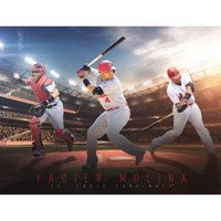 Yadier Molina St. Louis Cardinals Fathead Giant Removable Wall Mural