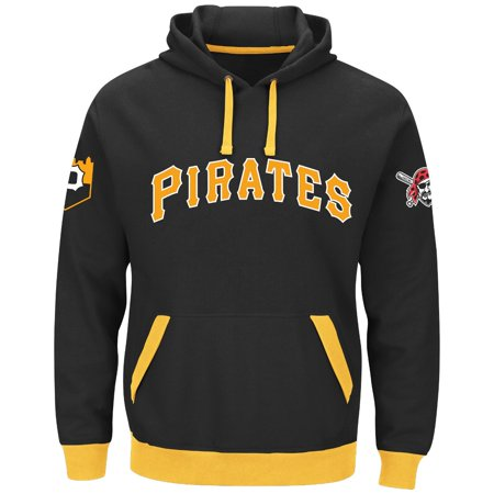 "Pittsburgh Pirates Majestic MLB ""Third Wind"" Mens Hooded Sweatshirt by"
