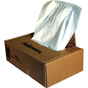 Fellowes Waste Bags for C-380 Series Shredders (50 Bags Per Box)