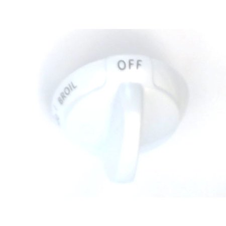 WB03K10011 GE Knob-Thermostat (White) Genuine OEM WB03K10011