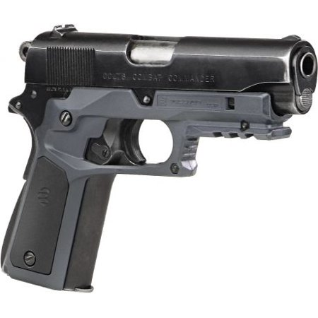 Recover Tactical 1911 Grips with Integrated Rail Adapter and Changeable (Foregrip Integrated Rail)