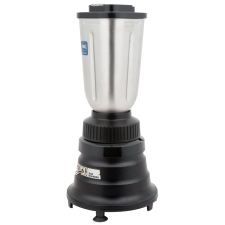 Blender Container Rinser - Waring Commercial 3/4 HP Bar Blender with Stainless Steel Container - 32 oz