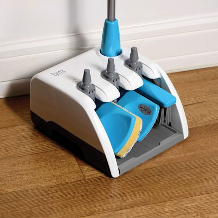 Lynx 4-In-1 Home Cleaning System - Detachable Broom, Mop, Duster, And Wet/Dry