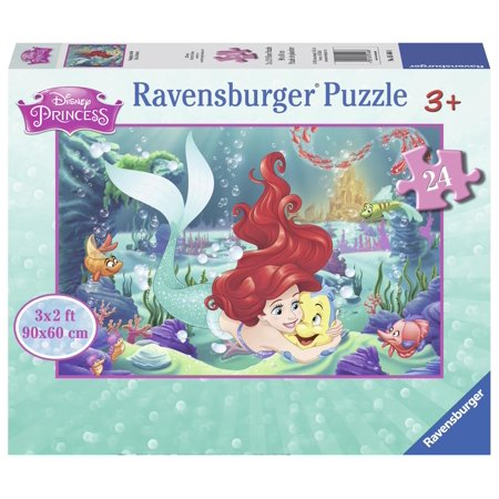Disney Princess Hugging Arielle (24 PC Giant Floor Puzzle) (Other)](Giant Floor Keyboard)