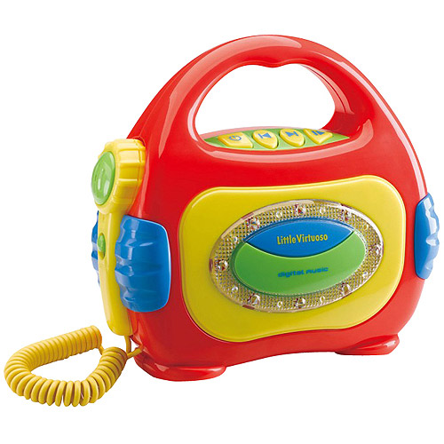Little Virtuoso Sing Along MP3 Player, Red