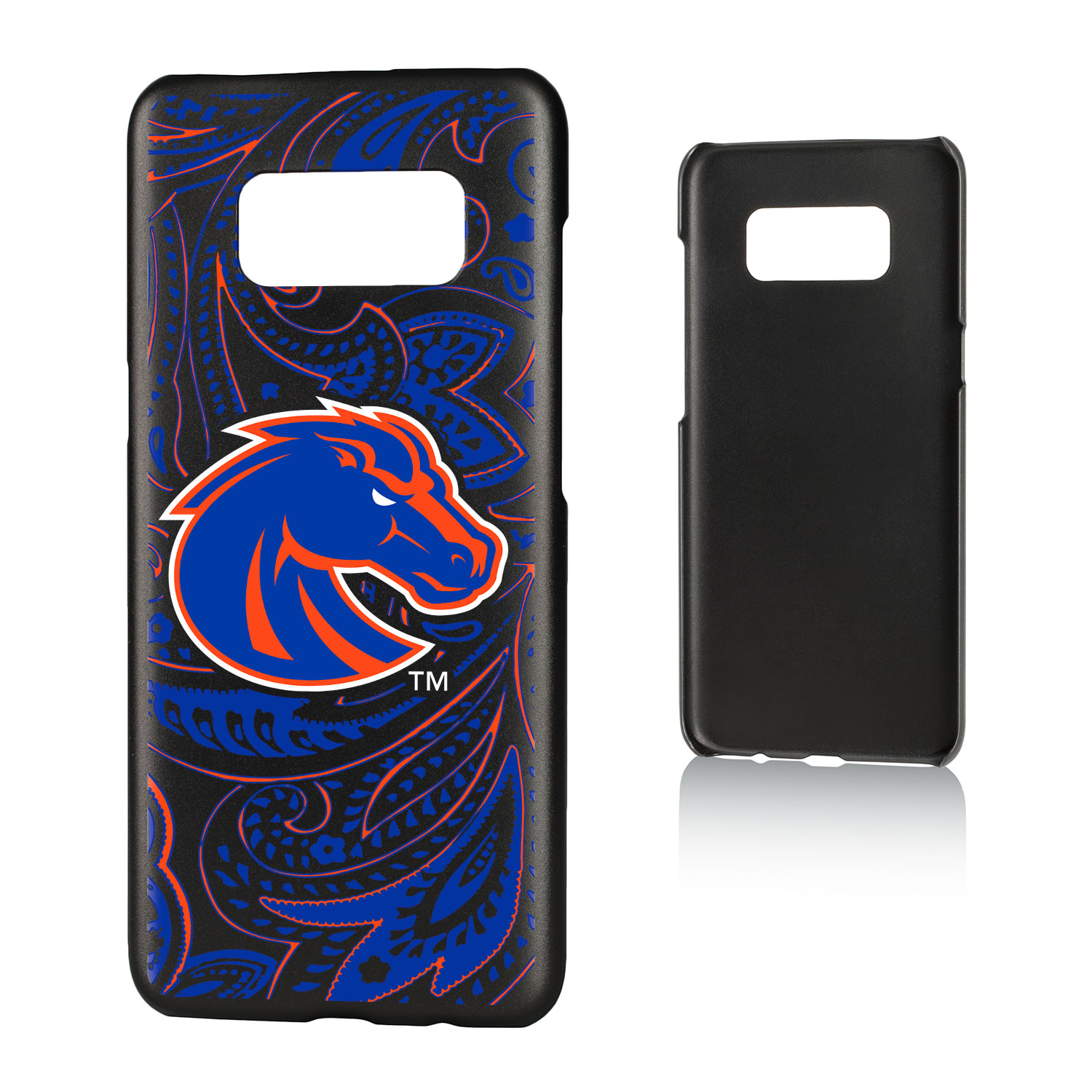 BSU Boise State Broncos Paisley Slim Case for Galaxy S8