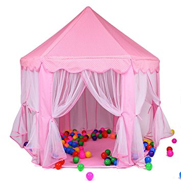 Princess Castle Play Tent House For Girls Indoor Outdoor Toy 56 x 54 inches Pink  sc 1 st  Walmart & Princess Castle Play Tent House For Girls Indoor Outdoor Toy 56 x 54 ...