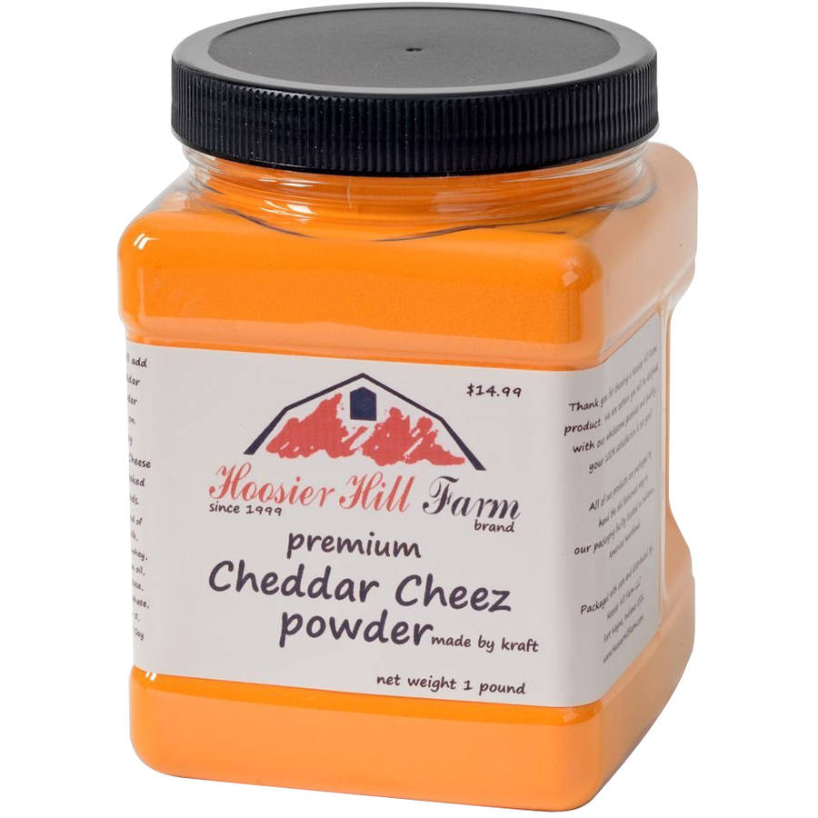 Hoosier Hill Farm Premium Cheddar Cheez Powder, 16 oz