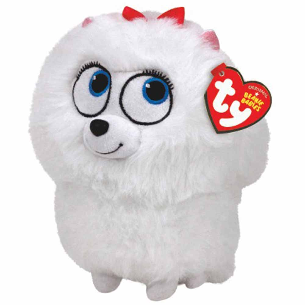 Ty Beanie Babies Secret Life of Pets Gidget The Dog Regular Plush