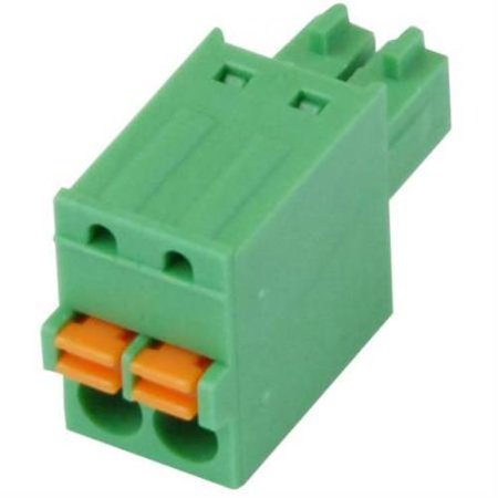 Imo Precision Controls Terminal Block Screwless 3 Pole 3 5Mm Pitch 2 Pack