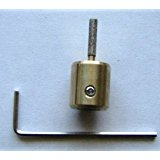 """1/8"""" Stained Glass Grinder Head Bit Quality Brass Core For Stained Glass Grinding"""