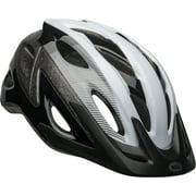Bell Axle Bike Helmet, Black/White, Adult 14+ (54-61cm)