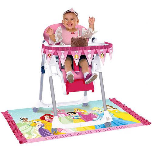 Disney Princess First Birthday High Chair Kit