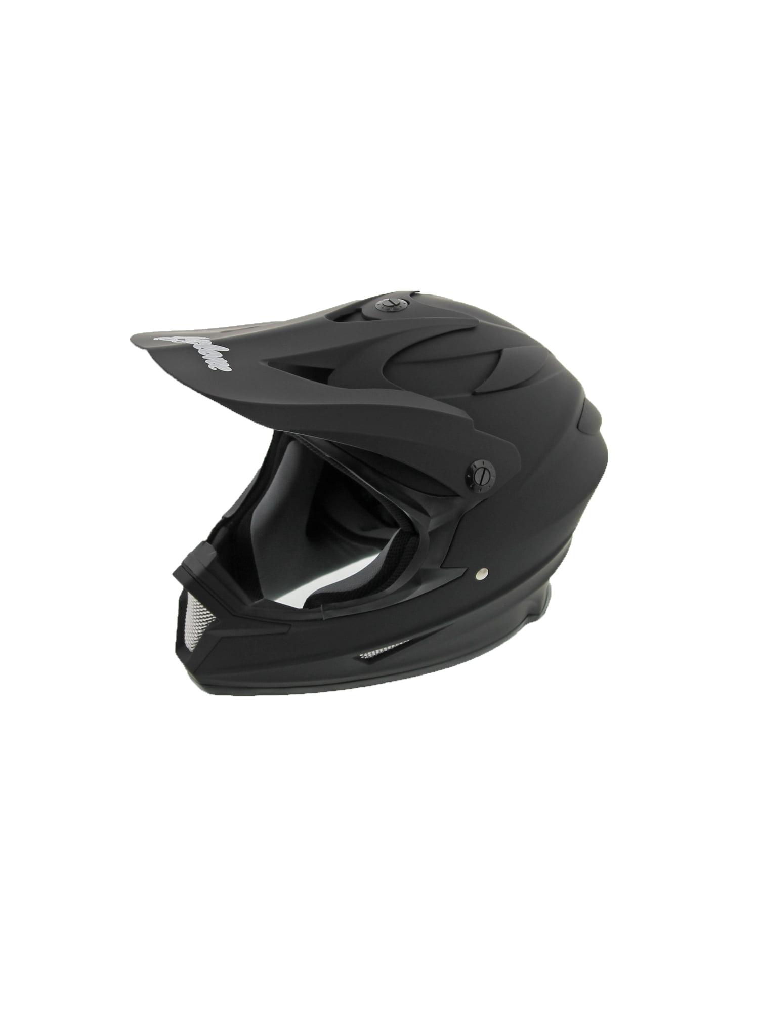 Red Medium Cyclone ATV MX Dirt Bike Off-Road Helmet DOT//ECE Approved