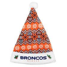 Denver Broncos 2015 Knit Santa Hat (Knit Santa Hat)