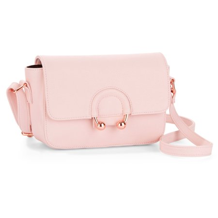 Ring Hobo Handbag Purse Bag - No Boundaries Ring Detail Crossbody