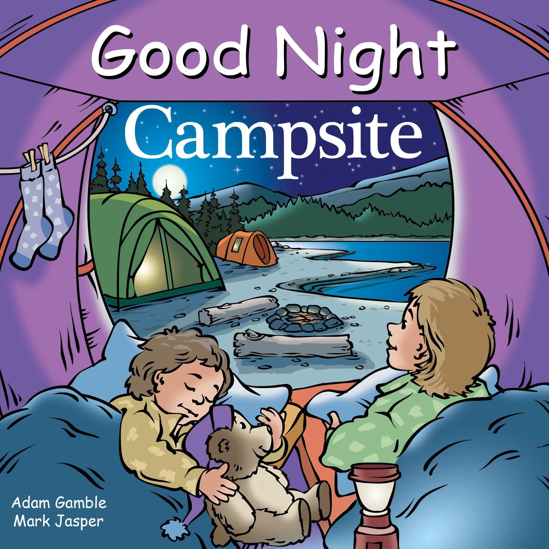 Good Night Campsite (Board Book) - Walmart.com - Walmart.com