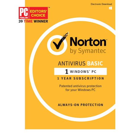 Norton AntiVirus Basic - 1 PC (Best Low Resource Antivirus 2019)