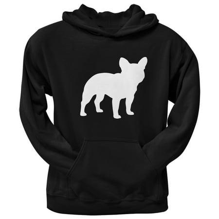 French Bulldog Silhouette Black Adult -