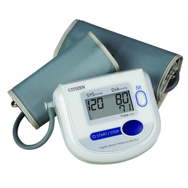 Veridian Healthcare CH-4532 Citizen Arm Digital Blood Pressure Monitor with Adult and Large Adult Cuffs
