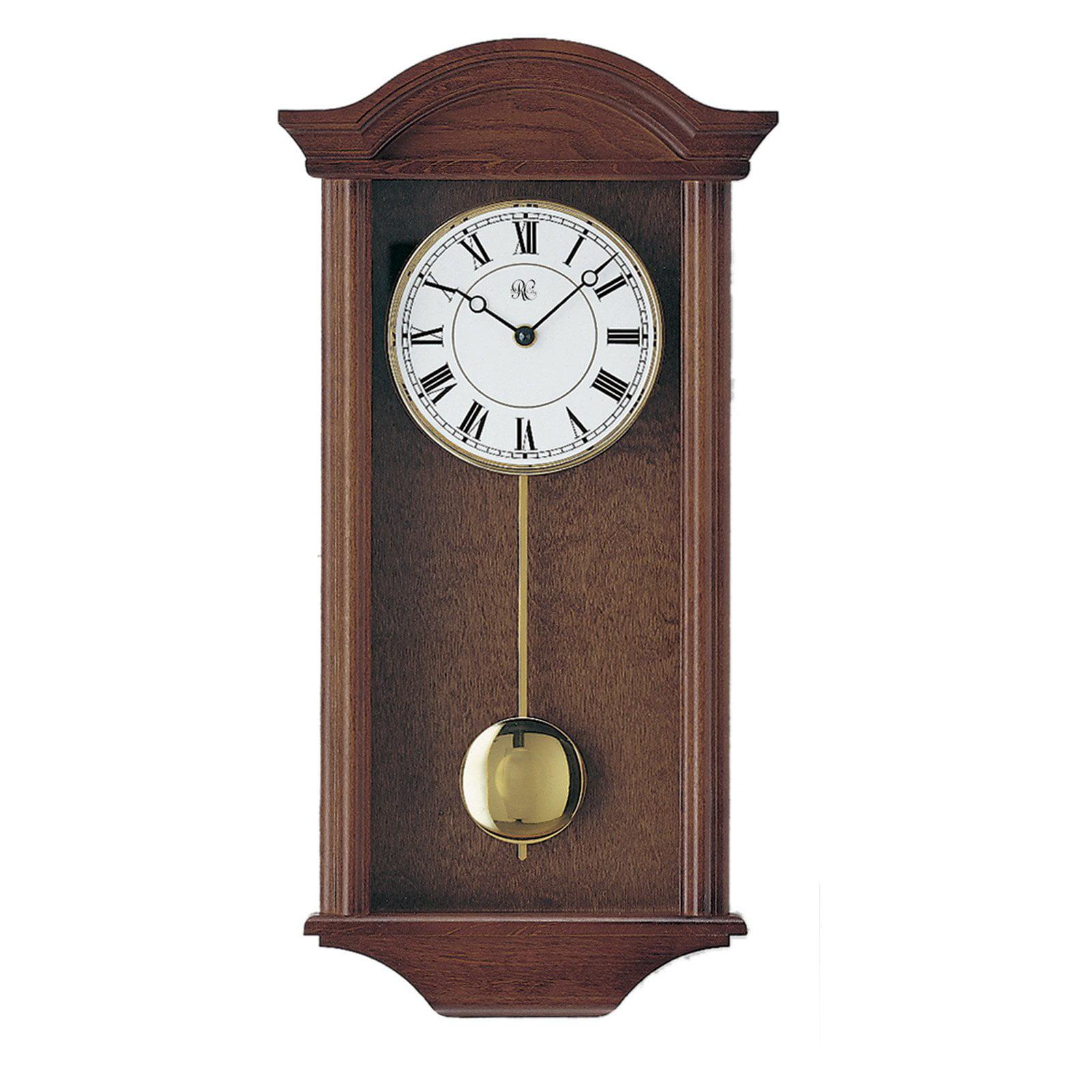 River City Clocks Walnut Chiming Wall Clock by River City Clocks