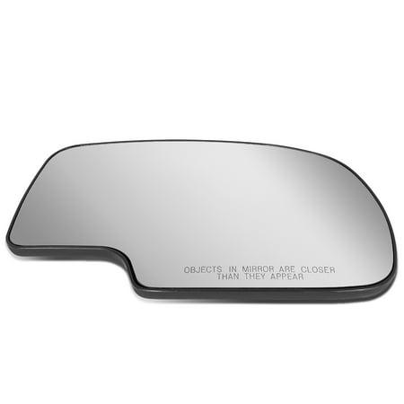 For 2000 to 2006 Chevy Silverado Tahoe GMC Sierra/Yukon Right Side Door Rear View Mirror Glass Replacement Lens 01 02 03 04 05 06 Silverado Side View Mirror
