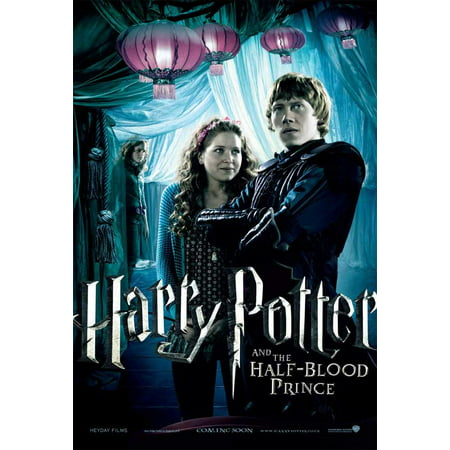 Harry Potter And The Half Blood Prince  2009  11X17 Movie Poster  Uk