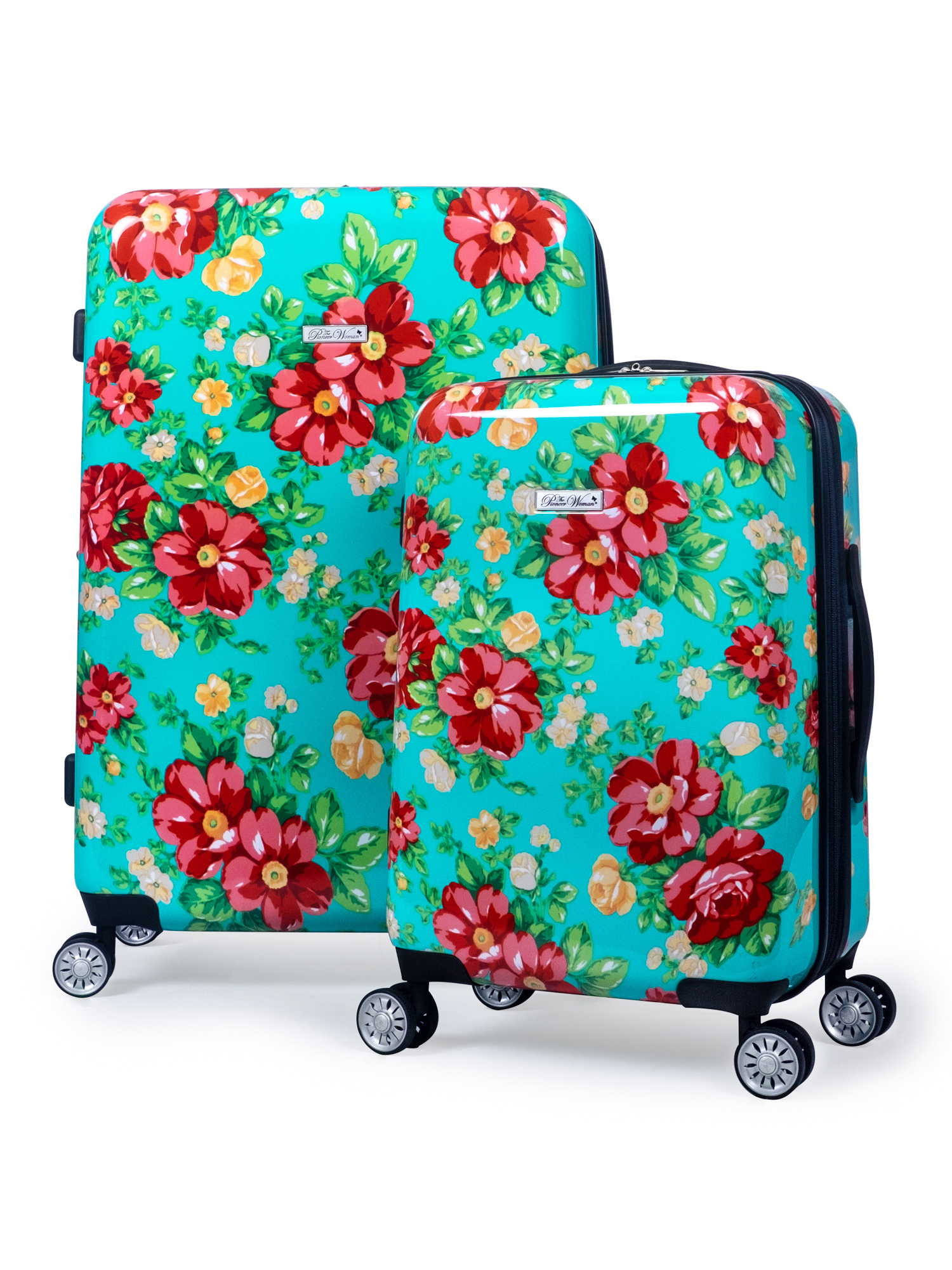 5 Patterns Optional ///& Small Fresh Student Creative Plant Travel Large Capacity Trolley Case YD Luggage Set Trolley Case TSA Custom Code Lock Frosted Pearlescent Surface ABS//PC