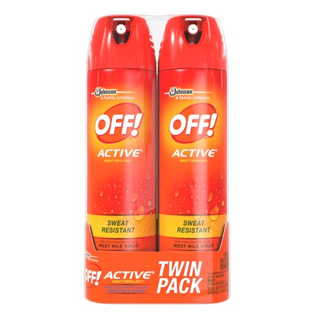 Off  Active Insect Repellent I  2 Count  9Oz