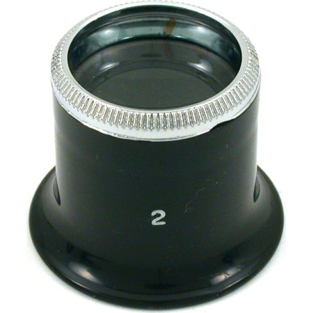Coin Loupe - 5x Eye Loupe Jeweler Stamp Coin Magnifier Optical Tool