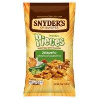 Snyder's Pretzel Pieces, Jalapeno, 12 Ounce Bag